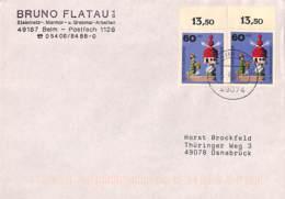 [402568]B/TB//**/Mnh-Allemagne 1998 - OSNABRUCK 12, Pigeonnier, Oiseaux, Pigeons & Columbiformes - Stamps