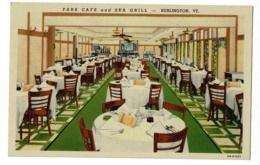 Park Cafe And Sea Grill - 143 Main St - Burlington, Vermont - Pas Circulé - Burlington