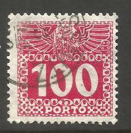 AUSTRIA. 100h POSTAGE DUE. USED - Postage Due