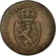 Monnaie, Etats Allemands, NASSAU, Kreuzer, 1808, Usingen, TB, Cuivre, KM:10 - Small Coins & Other Subdivisions