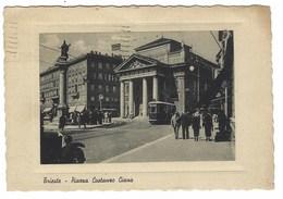 2634 - TRIESTE PIAZZA COSTANZO CIANO ANIMATA 1942 - Trieste (Triest)