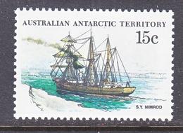 AAT  L 42    (o)    POLAR  SAILING SHIP - Australian Antarctic Territory (AAT)