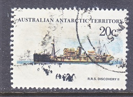 AAT  L 43    (o)    POLAR  SAILING SHIP - Used Stamps