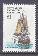 AAT  L 52    (o)    POLAR  SAILING SHIP - Used Stamps