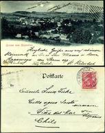 German  Postcard UPPER SILESIA  AUG. 8, 1900 NEUSALZA - Allemagne