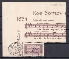 CSSR 1934 Mi 330X National Anthem - Neufs