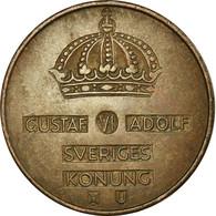 Monnaie, Suède, Gustaf VI, 5 Öre, 1966, TTB, Bronze, KM:822 - Sweden