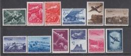 Bulgaria 1940 - Par Avion: Serie Courante, YT PA 19/30, MNH** - 1909-45 Reino