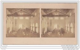 38) La Romanche  (Isère) Carte Photo Stéréo Sur Support Cartonné Format 14 X 7,5 - Le 26 Juillet 1902 -  Usine Chimique - Vienne