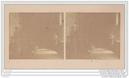 38) La Romanche (Isère) Carte Photo Stéréo Sur Support Cartonné Format 14 X 7,5 Le 26 Juillet 1902  Usine  Atelier Forge - Vienne