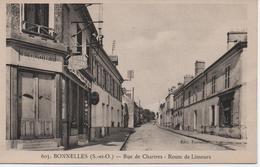 BONNELLES  RUE DE CHARTRES  ROUTE DE LIMOURS - France