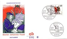 DOCTOR JOHANNES FAUST  FDC COVER 1979     (GENN201018) - Medicina
