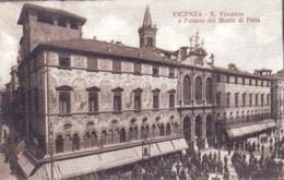 Italie - VICENZA - S Vincenzo E Palazzo Del Monte Di Pieta - Vicenza