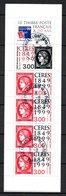 B363-8 France Bloc Ou Carnet Oblitéré N° BC3213 Avec Oblitération Ronde - Blocs & Feuillets