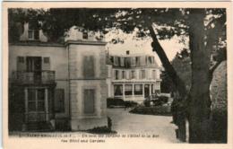 61id 145 CPA - SAINT ENOGAT - UN COIN DES JARDINS - France