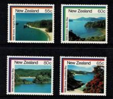 New Zealand 1986 Scenic Bays Set Of 4 MNH - Nieuw-Zeeland