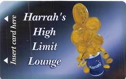 Harrah's Casino Laughlin, NV - High Limit Lounge Slot Card - Tarjetas De Casino