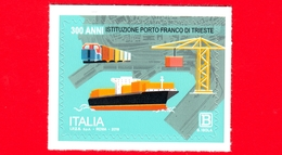 Nuovo - MNH - ITALIA - 2019 - 300 Anni Del Porto Franco Di Trieste – Mappa - B - 6. 1946-.. Republik