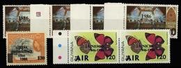 1986, Guyana, 1543-46 U.a., ** - Guyana (1966-...)