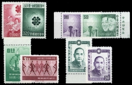1962, China Taiwan, 478-79 U.a., (*) - Taiwan (Formosa)