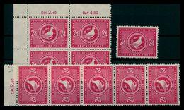 SBZ 1949 10x Nr 233 Postfrisch (205153) - Sowjetische Zone (SBZ)