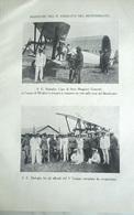 BADOGLIO NEL MEDITERRANEO / A. FERRARINI 1928 RITAGLIO DI GIORNALE   (27) - Otros
