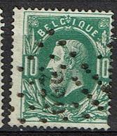 30  Obl  LP 229 Loth  + 10 - 1869-1883 Léopold II