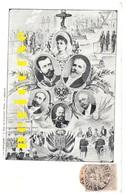 Nicolas II Et Autres Chefs D'état - Russie