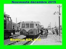 AL 632 - Autorail 150 CV En Gare - BELLEGARDE-QUIERS - Loiret - SNCF - Eisenbahnen