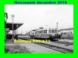 AL 636 - Autorail 150 CV En Gare - PITHIVIERS - Loiret - SNCF - Trains