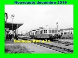 AL 636 - Autorail 150 CV En Gare - PITHIVIERS - Loiret - SNCF - Eisenbahnen