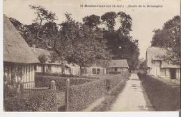 HAUTOT L'AUVRAY. CP Voyagée  En 1926 Route De La Mésangère - France