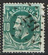 30  Obl  LP 157  Grupont  + 10 - 1869-1883 Léopold II