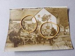 Esch Le Trou Photo Originale Café Terrasse Un Jour De Pentecôte 1929 Pro Du Luxembourg - Esch-Sauer