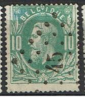 30  Obl  LP 45  Boitsfort  + 20 - 1869-1883 Leopold II.