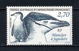 TAAF 1999 N° 236 ** Neuf MNH Superbe Faune Oiseaux Manchot à Jugulaire Birds Fauna Animaux - Terres Australes Et Antarctiques Françaises (TAAF)