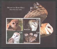 EC219 2012 NIUAFO'OU FAUNA BIRDS OWLS 1KB !!! MICHEL 110 EURO MNH - Eulenvögel