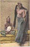SENEGAL AFRIQUE OCCIDENTALE - Fortier 1046 - Colorisée - Danseuses Arabes Seins Nus - Animée - Belle - Sénégal