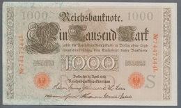 P44 Ro 45c DEU-40c  7 Chifres N°7447344L *** UNC *** Lettre  S  1000 Mark 1910 - [ 2] 1871-1918 : German Empire