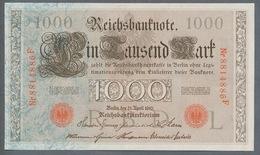 P44 Ro 45c DEU-40c  7 Chifres N°8814886 *** UNC *** Lettre  L  1000 Mark 1910 - [ 2] 1871-1918 : German Empire
