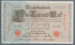P44 Ro 45c DEU-40c  7 Chifres N°8814887 *** UNC *** Lettre  L  1000 Mark 1910 - [ 2] 1871-1918 : German Empire