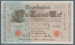 P44 Ro 45c DEU-40c  7 Chifres N°8814888 *** UNC *** Lettre  L  1000 Mark 1910 - [ 2] 1871-1918 : German Empire