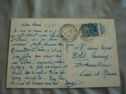 Timbre Publicitaire Cartnet Publicite Phosphatine Faliere Enfant Jeanne D Arc  Sur Lettre - Marcophilie (Lettres)