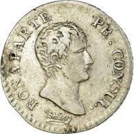 Monnaie, France, Napoléon I, 1/4 Franc, An 12 (1804), Paris, TTB, Argent - France