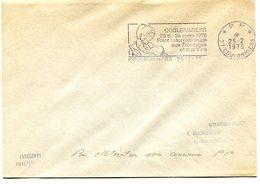 SEINE ET MARNE De COULOMMIERS Flamme En P.P.  Foire Aux Fromages Sur Env. De 1975 - Postmark Collection (Covers)