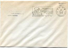 SEINE ET MARNE De COULOMMIERS Flamme En P.P.  Foire Aux Fromages Sur Env. De 1976 - Postmark Collection (Covers)