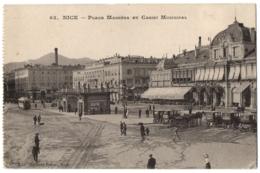 CPA 06 - NICE (Alpes Maritimes) - 63. Place Masséna Et Casino Municipal - Plazas