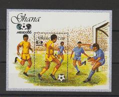 Ghana 1987 Football Mexico 86 BF 123 ** MNH - Ghana (1957-...)
