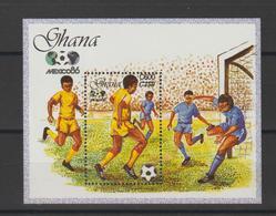Ghana 1989 Football Mexico 86 BF 133 ** MNH - Ghana (1957-...)