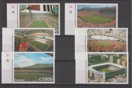 Ghana 1998 Football France 98 2083-88 6 Val ** MNH - Ghana (1957-...)
